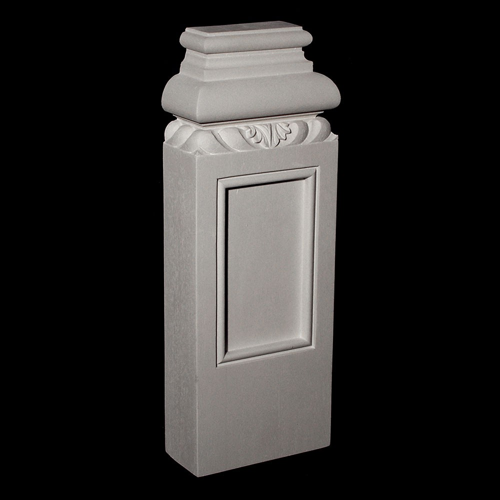 BASE-200 Series Profile Resin Columns Base with Acanthus leaf