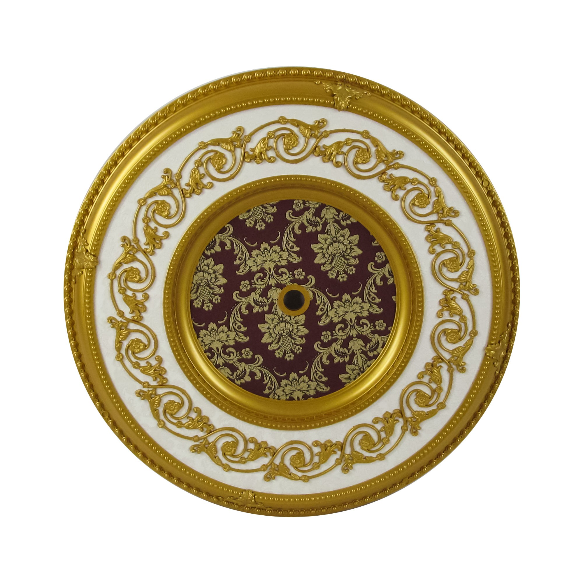 expertissim yellow and pearl cultured medallion gold oval