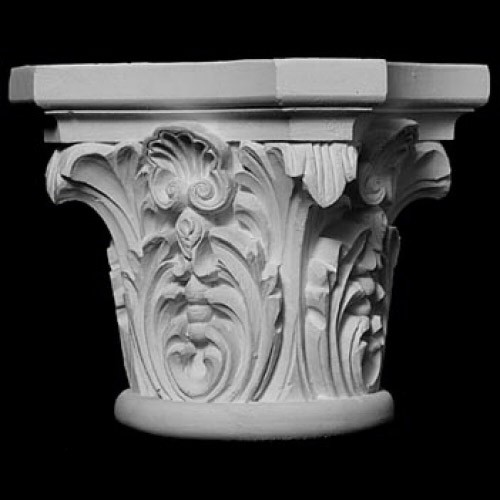 CAP-103 Series Acanthus Leaf and Shell Resin Capitol