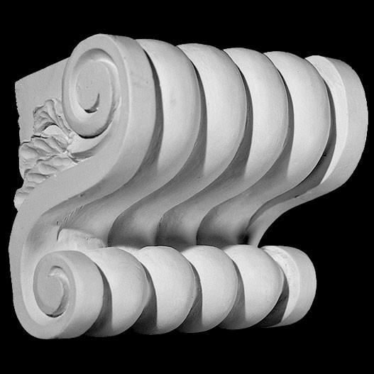 CB-104 Series Knuckle Acanthus Leaf Resin Corbel