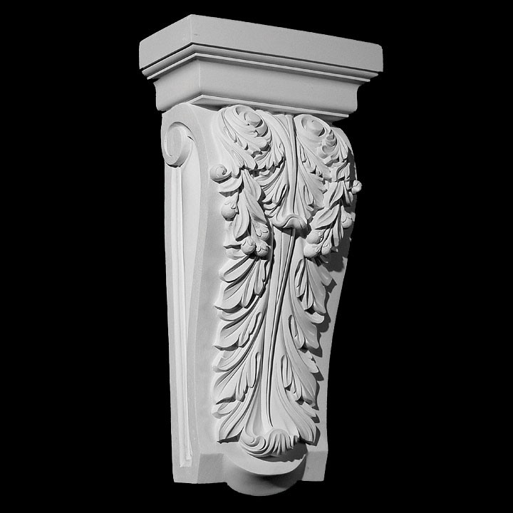 CB-165 Classical Acanthus Leaf Resin Corbel