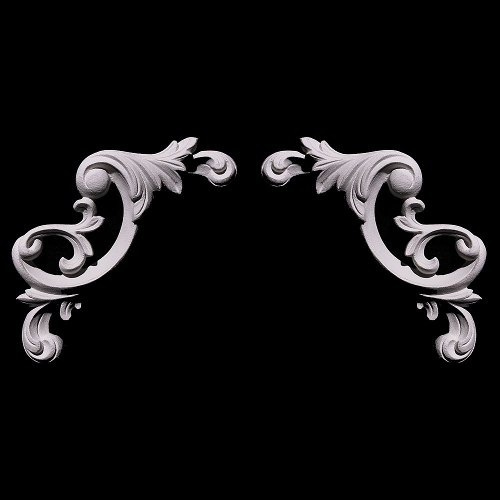 CE-305 Series Acanthus Leaf Resin Corner Element