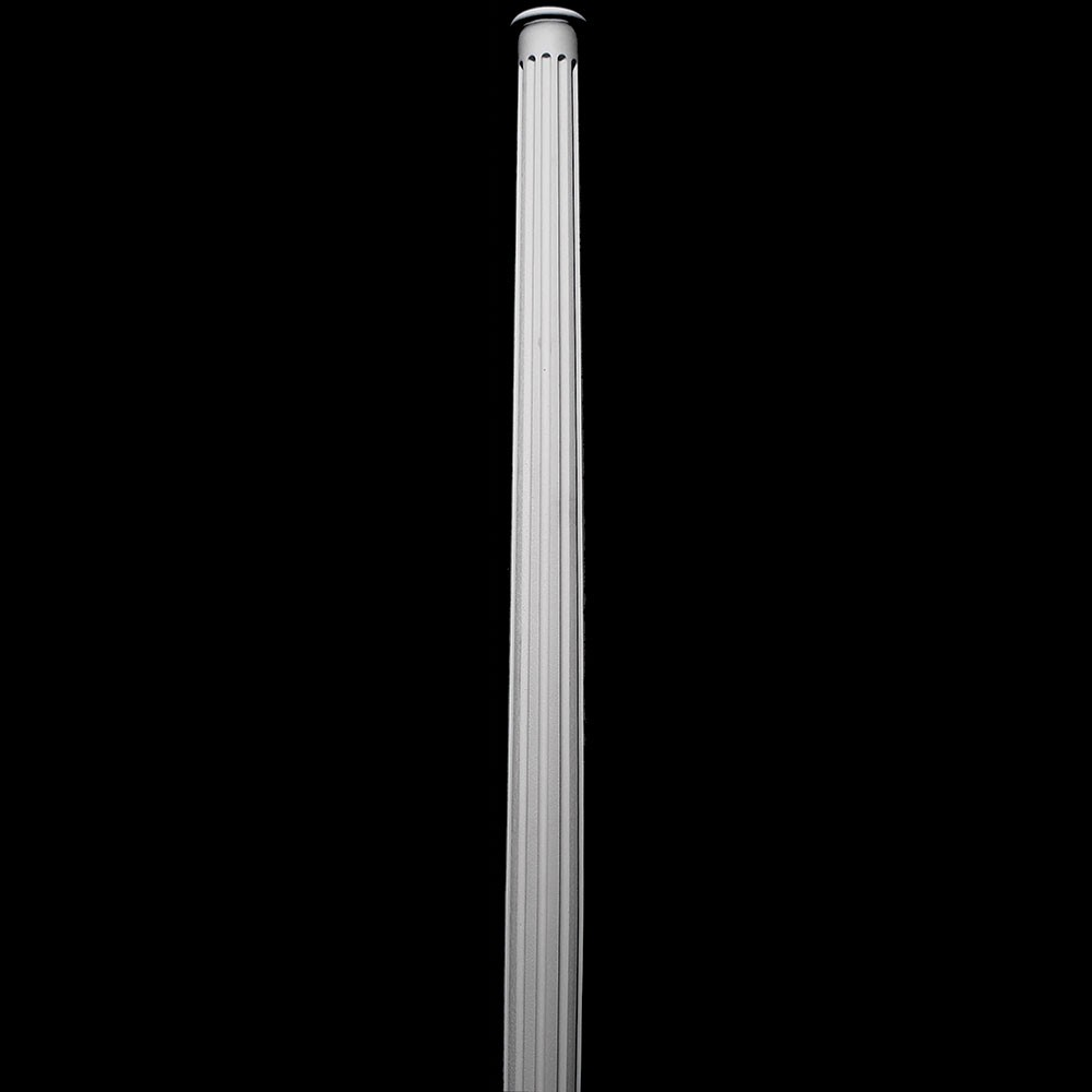 COLM-106-TC Series Flute Round Tapered Resin Column