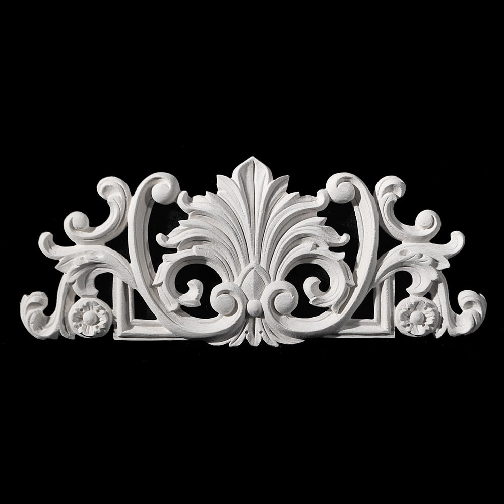 CP-181 Series Acanthus Leaf with Florets Resin Centerpiece