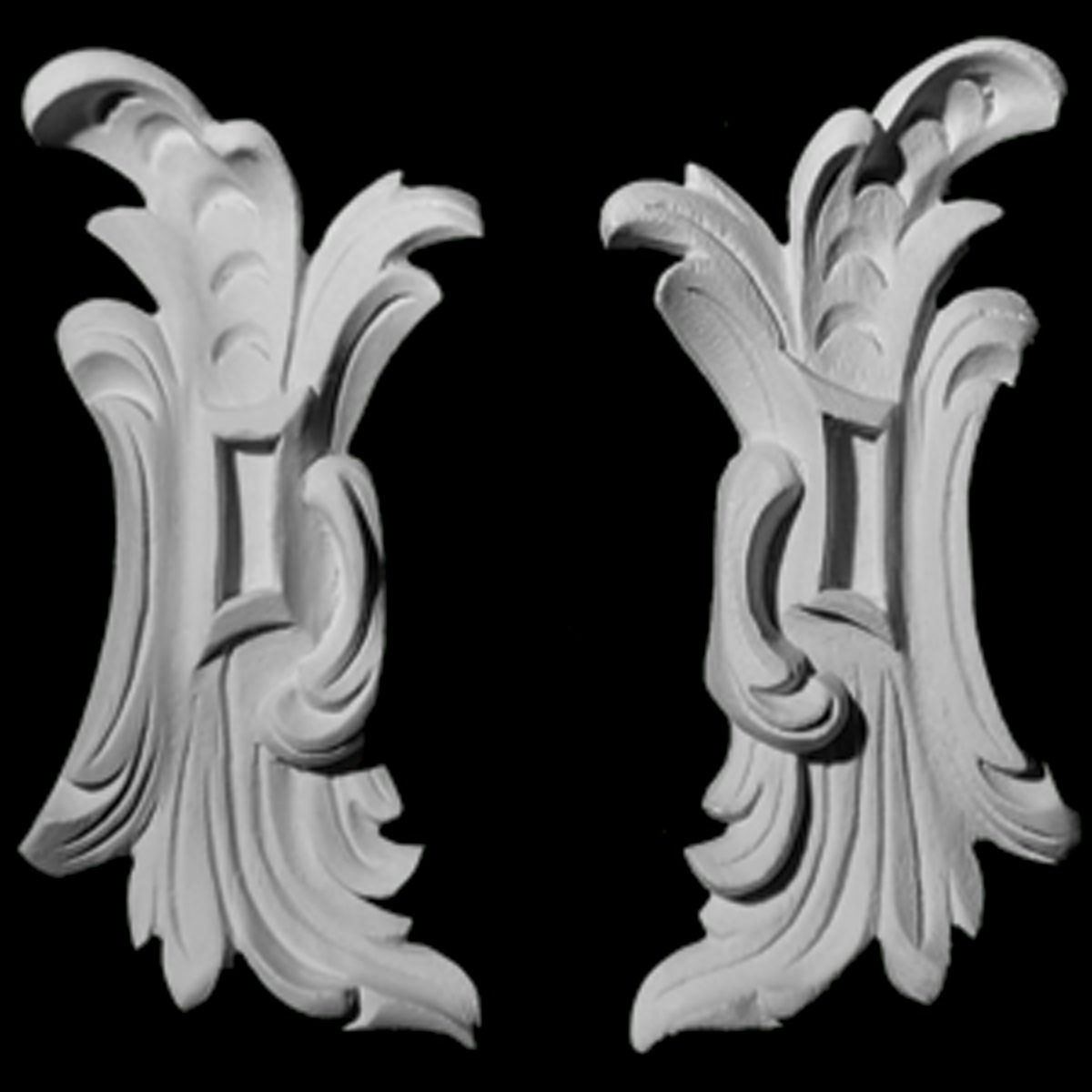 CP-109 Series Acanthus Leaf Resin Centerpiece
