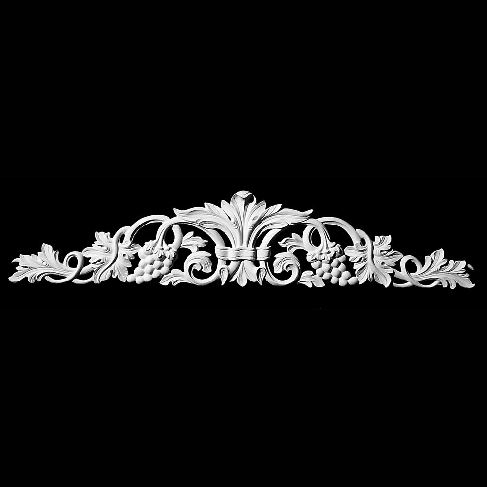 CT-188 Series Grape Vine with Acanthus Leaf Resin Cartouche