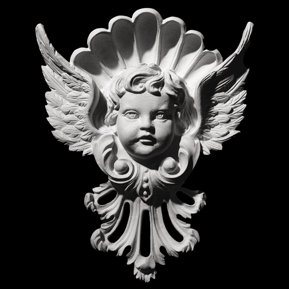 FACE-116 Series Resin Cherub with Wings