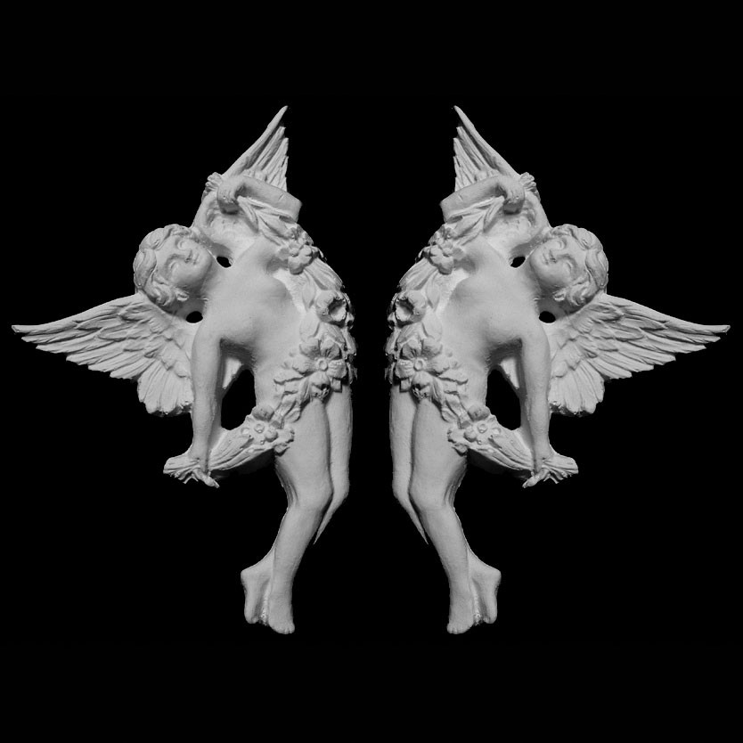 OL-548 Series Left and Right Angels Resin Onlay