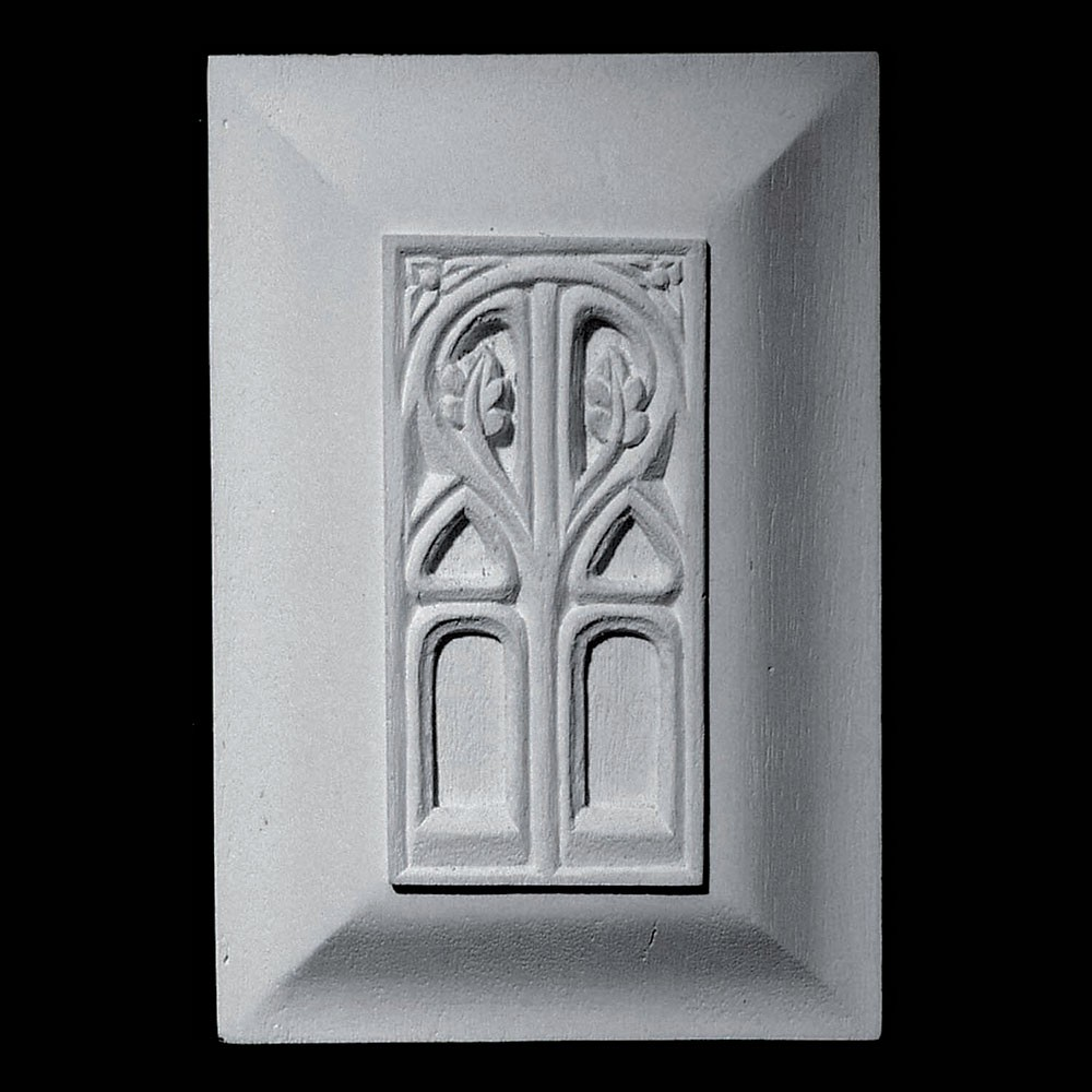 PANL-222A Gothic Raised Resin Panel