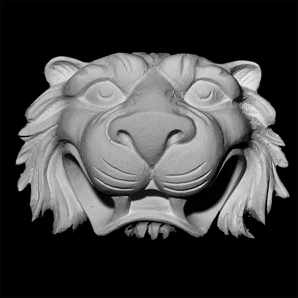 PULL-109 Lion's Face Resin Pull