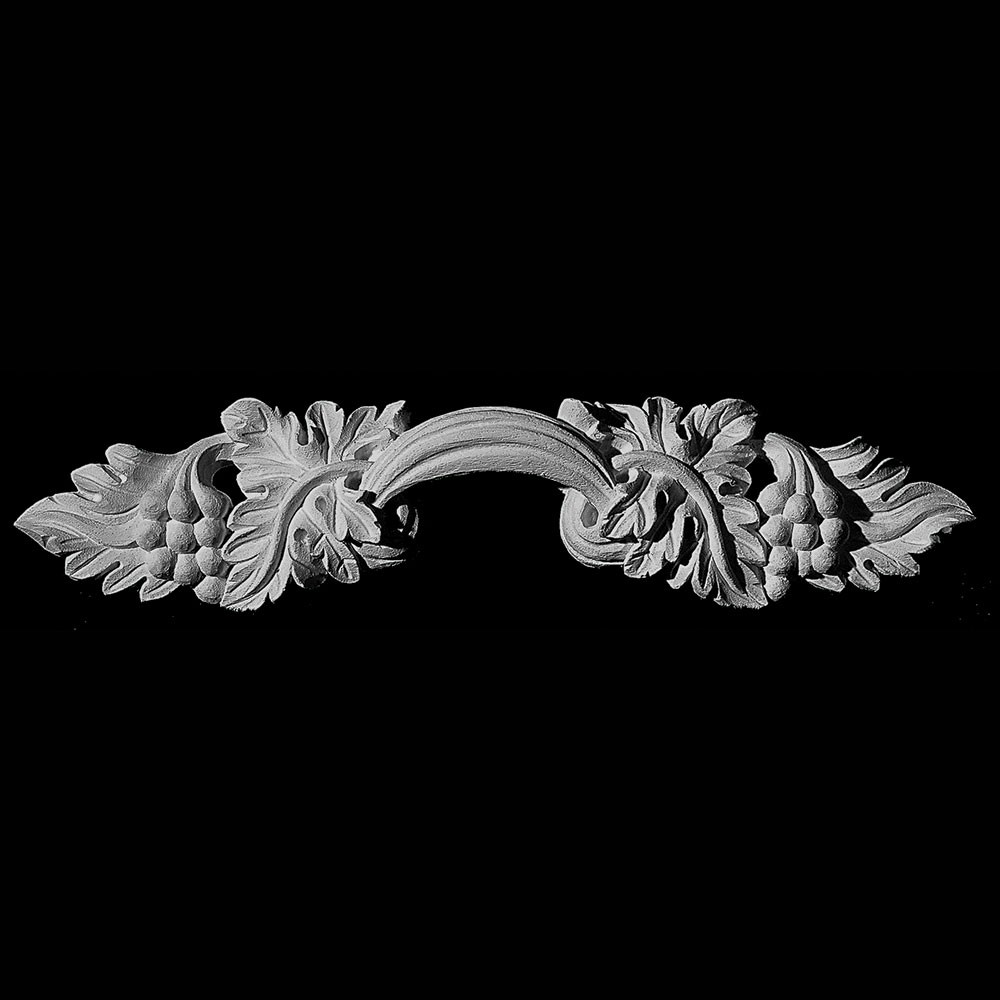 PULL-132 Series Center Handle with Grapes and Leaves Resin Pull