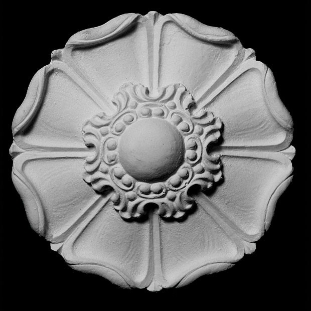 ROST-154 Series Round Smooth Flower Resin Rosette
