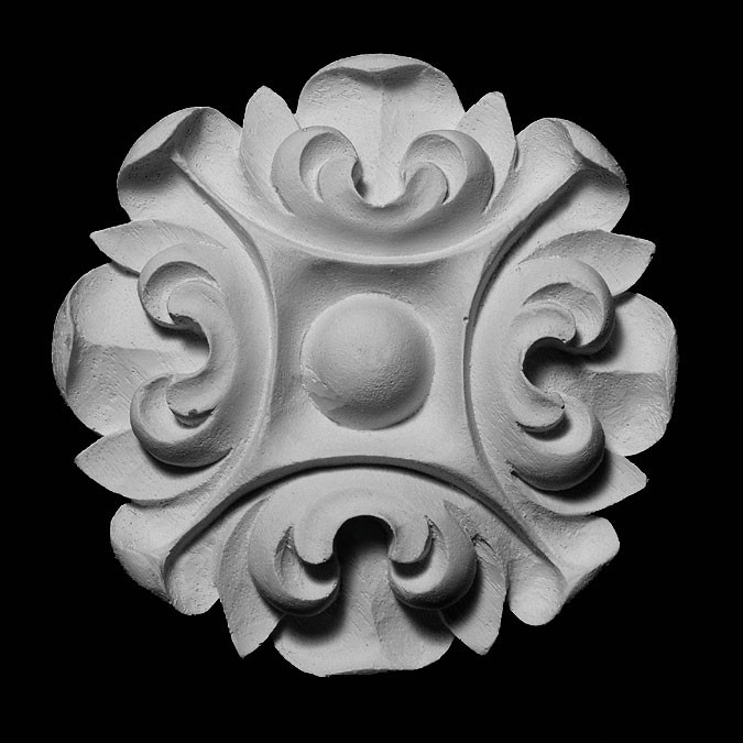 ROST-351 Series Round Leaf Resin Rosette