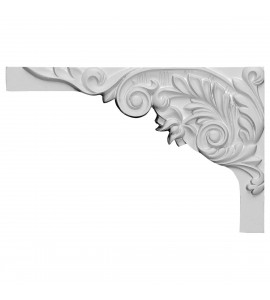 "EM-SB11X07SP-L - 11""W x 7""H x 5/8""D Springtime Stair Bracket, Left"