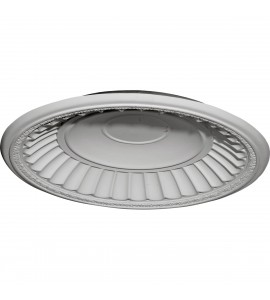 "EM-DOME26DU - 26 7/8""OD x 25""ID x 3 7/8""D Dublin Recessed Mount Ceiling Dome (24 1/2""Diameter x 3 1/4""D Rough Opening)"