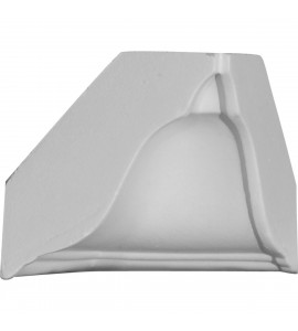 "EM-MIC03X03 - 3 1/2""P x 3 5/8""H, Inside Corner for Moulding Profiles"