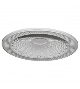 "EM-DOME35DE - 35 3/8""OD x 27 1/2""ID x 3 1/4""D Devon Recessed Mount Ceiling Dome (31""Diameter x 2 1/2""D Rough Opening)"