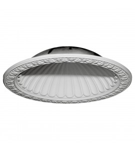 "EM-DOME47CL - 47 3/8""OD x 38 3/8""ID x 10 3/8""D Claremont Recessed Mount Ceiling Dome (39""Diameter x 10 1/2""D Rough Opening)"