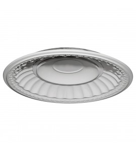 "EM-DOME51DU - 50 7/8""OD x 43 1/2""ID x 6 3/8""D Dublin Recessed Mount Ceiling Dome (49""Diameter x 7""D Rough Opening)"