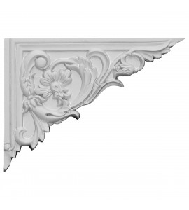 "EM-SB08X06FL-R - 8 5/8""W x 6 1/4""H x 5/8""D Flower Stair Bracket, Right"