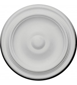 "EM-CM09MA - 9 5/8""OD x 1 1/8""P Maria Ceiling Medallion (Fits Canopies up to 1 3/4"")"
