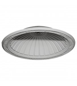 "EM-DOME42HA - 42 7/8""OD x 35 3/8""ID x 8 1/4""D Hamilton Recessed Mount Ceiling Dome (36 1/2"" Diameter x 9 1/4""D Rough Opening)"