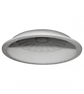 "EM-DOME53BE - 53 7/8""OD x 46""ID x 8""D Bedford Recessed Mount Ceiling Dome (48""Diameter x 9 1/4""D Rough Opening)"