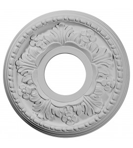 "EM-CM11HE - 11 7/8""OD x 3 5/8""ID x 7/8""P Helene Ceiling Medallion (Fits Canopies up to 5 1/4"")"