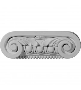 "EM-CAP09X03X02SO - 9 1/2""W x 3 1/8""H x 2 1/4""D Southampton Capital (Fits Pilasters up to 6 1/4""W x 3/8""D)"