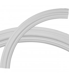 """EM-CR41TR - 41 3/4""""OD x 35 1/4""""ID x 3 1/4""""W x 3/4""""P Traditional Ceiling Ring (1/4 of complete circle)"""