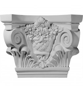 "EM-CAP21X07X16SU - 21 5/8""W x 7 1/2""D x 16 3/4""H Sussex Capital (Fits Pilasters up to 13 1/2""W x 1 5/8""D)"