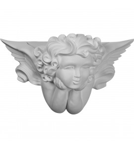"EM-SCO23X14X09AN - 23 5/8""W  x 14 1/8""H x 9 1/2""P Angel Wall Sconce"