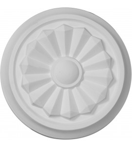 "EM-CM07OL - 7 7/8""OD x 1 1/8""P Olivia Ceiling Medallion (Fits Canopies up to 2 1/8"")"