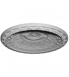 "EM-DOME47ST - 47 1/4""OD x 39 3/8""ID x 6 3/8""D Stockport Recessed Mount Ceiling Dome (41""Diameter x 5 1/4""D Rough Opening)"
