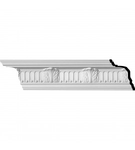 "EM-MLD03X03X04CO - 3 1/4""H x 3 1/8""P x 4 3/8""F x 96""L, (4 5/8"" Repeat), Colton Crown Moulding"