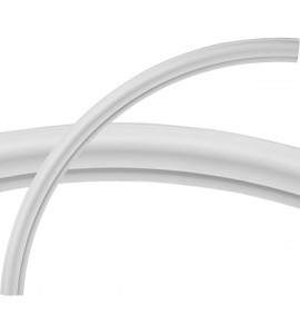 """EM-CR38OX - 38 1/2""""OD x 35 1/4""""ID x 1 5/8""""W x 3/4""""P Oxford Ceiling Ring (1/4 of complete circle)"""