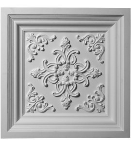 "EM-CT24X24KI - 24""W x 24""H x 2 3/8""P Kinsley Ceiling Tile"