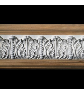 FRZ-408A Acanthus Leaf with Pearls Resin Frieze Moulding