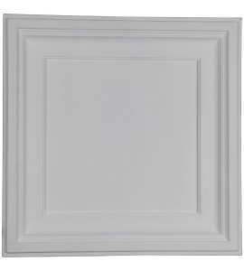 "EM-CT24X24TR - 23 7/8""W x 23 7/8""H x 2 1/2""P Traditional Ceiling Tile"