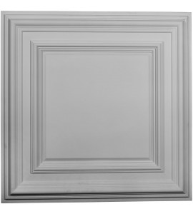 "EM-CT24CL - 23 3/4""W x 23 3/4""H x 1 5/8""P Classic Square Ceiling Tile"