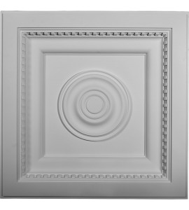 "EM-CT24X24AS - 23 7/8""W x 23 7/8""H x 3""P Ashford Ceiling Tile"