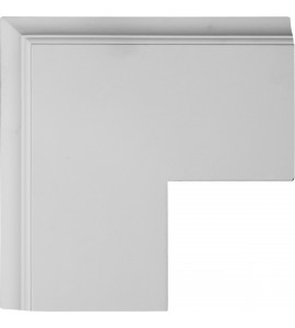 "EM-CC08POC02X14X14TR - 14""W x 2""P x 14""L Perimeter Outside Corner for 8"" Traditional Coffered Ceiling System"