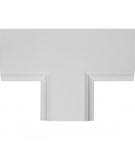 "EM-CC08PTE02X14X20TR - 14""W x 2""P x 20""L Perimeter Tee for 8"" Traditional Coffered Ceiling System"