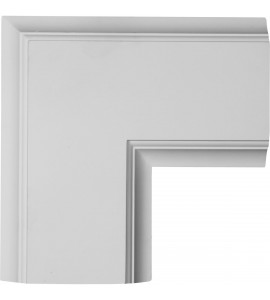 "EM-CC08ICN02X14X14TR - 14""W x 2""P x 14""L Inner Corner for 8"" Traditional Coffered Ceiling System"