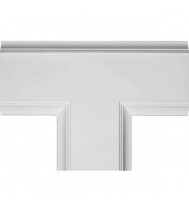 "EM-CC08ITE02X14X20TR - 14""W x 2""P x 20""L Inner Tee for 8"" Traditional Coffered Ceiling System"