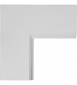 "EM-CC05PIC02X14X14TR - 14""W x 2""P x 14""L Perimeter Inside Corner for 5"" Traditional Coffered Ceiling System"
