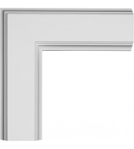 "EM-CC05ICN02X14X14TR - 14""W x 2""P x 14""L Inner Corner for 5"" Traditional Coffered Ceiling System"