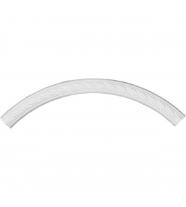 """EM-CR36ME - 35 1/2""""OD x 31 1/2""""ID x 2""""W x 7/8""""P Medway Ceiling Ring (1/4 of complete circle)"""