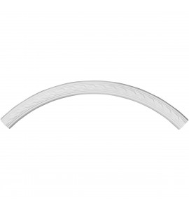 """EM-CR39ME - 39 3/8""""OD x 35 1/2""""ID x 2""""W x 7/8""""P Medway Ceiling Ring (1/4 of complete circle)"""