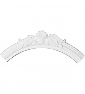 "EM-CR29FL - 28 3/4""OD x 23 5/8""ID x 2 5/8""W x 7/8""P Flower Ceiling Ring (1/4 of complete circle)"
